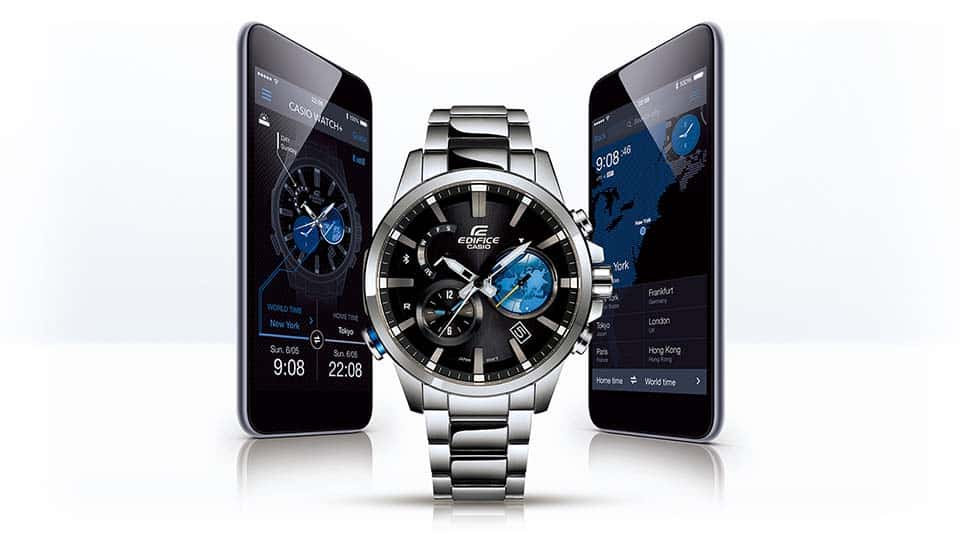 Casio Edifice EQB600D-1A2 Watch