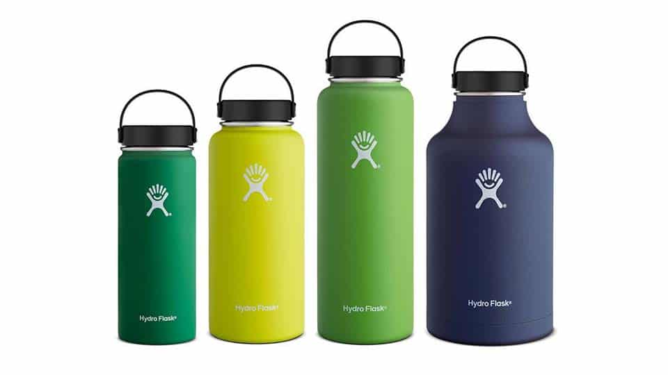 Hydro Flask Wide-Mouth Insulated Water Bottle