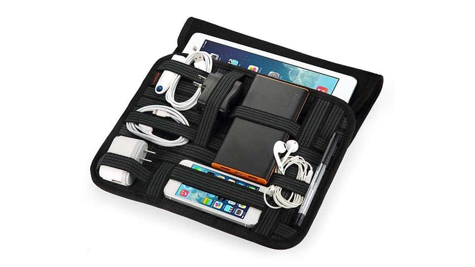 Travel Cable Organizer Case Cool Things To Buy 247