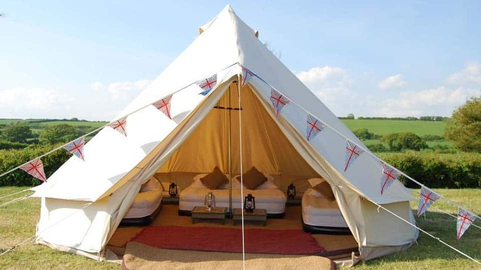 Outdoor Luxury Bell Tent