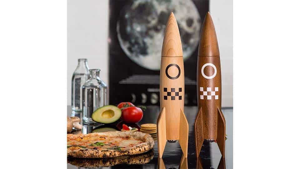 Rocket Salt and Pepper Mill
