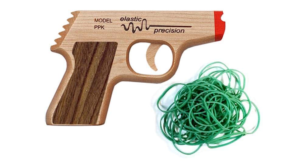 Model Ppk Rubber Band Gun Cool Things To Buy 247