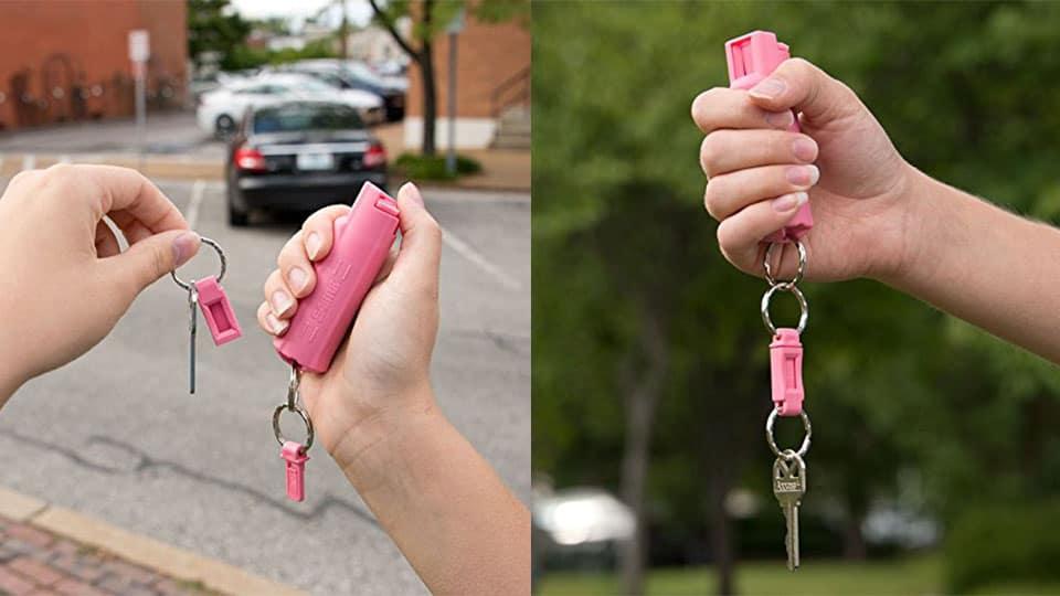 SABRE Pepper Spray Keychain