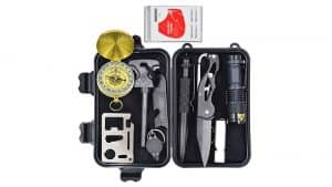 10-in-1 Emergency Survival Gear Kit