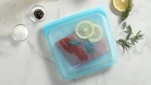 Reusable Silicone Food Saver Bag