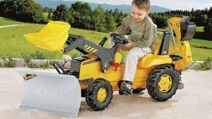 CAT Backhoe Loader Pedal Tractor