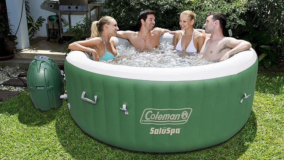 Inflatable Jacuzzi Hot Tub Cool Things To Buy 247