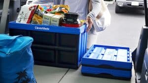 CleverCrates: Collapsible Plastic Storage Bin