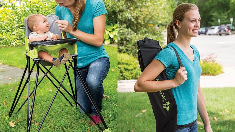 Portable High Chair for On-The-Go Lifestyles