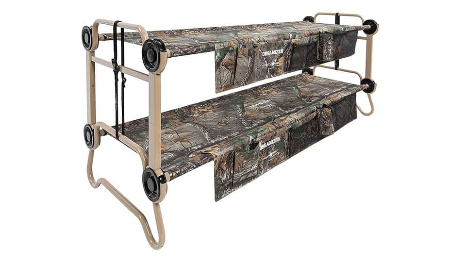 Disc-O-Bed Cam-O-Bunk with Organizers
