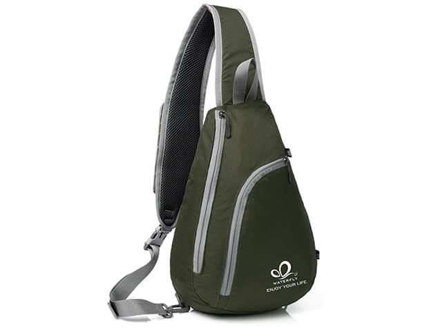 WATERFLY Chest Sling Shoulder Backpack