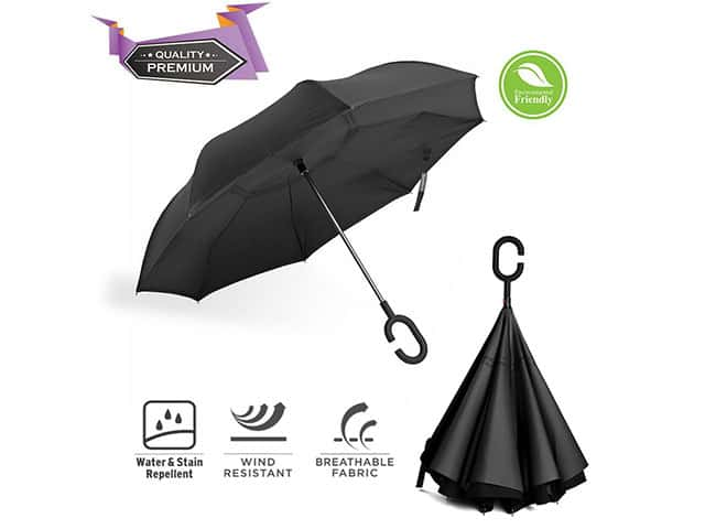 BravRain Inverted Umbrella