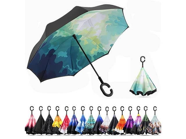 Ylovetoys Double Layer Inverted Umbrella