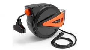 TACKLIFE Retractable Extension Cord Reel