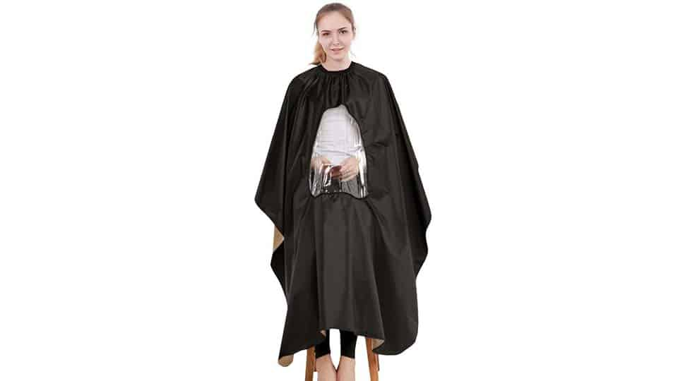 Barber Cape with Window