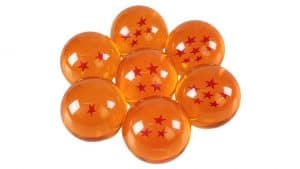 Crystal Dragon Ball Set