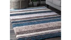 nuLOOM Hand Tufted Striped Area Rug
