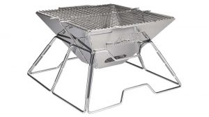 Quick Grill: Folding Charcoal BBQ Grill