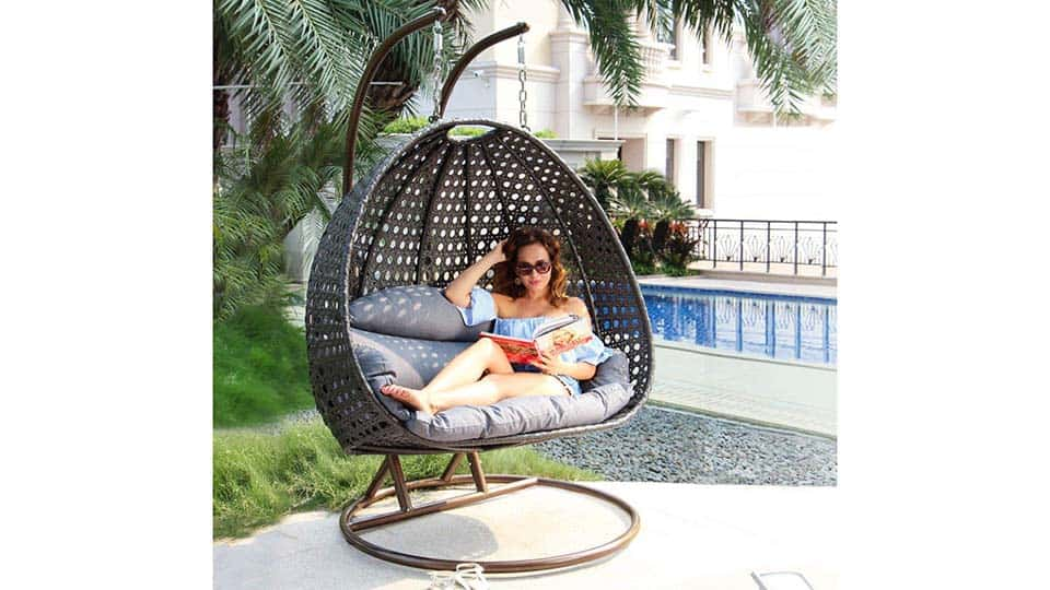 2 Person Hanging Egg Chair
