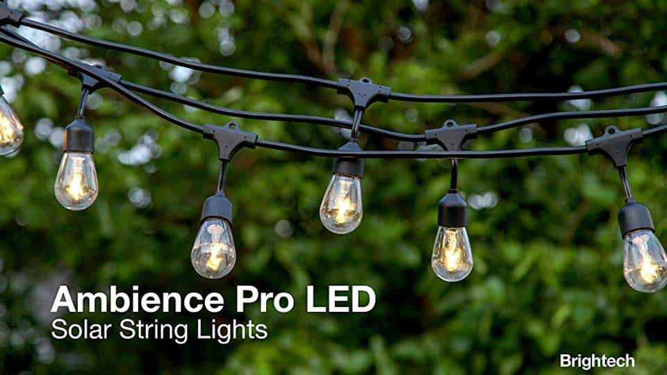 Brightech Ambience Pro Solar Led String Lights Cool