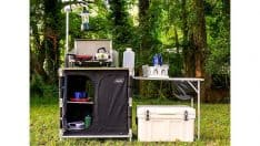 Camco 51097 Deluxe Camping Kitchen Table