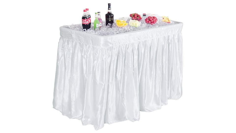 Giantex 4 Foot Party Ice Folding Table