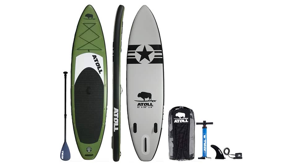 Atoll 11 Foot Inflatable Stand Up Paddleboard