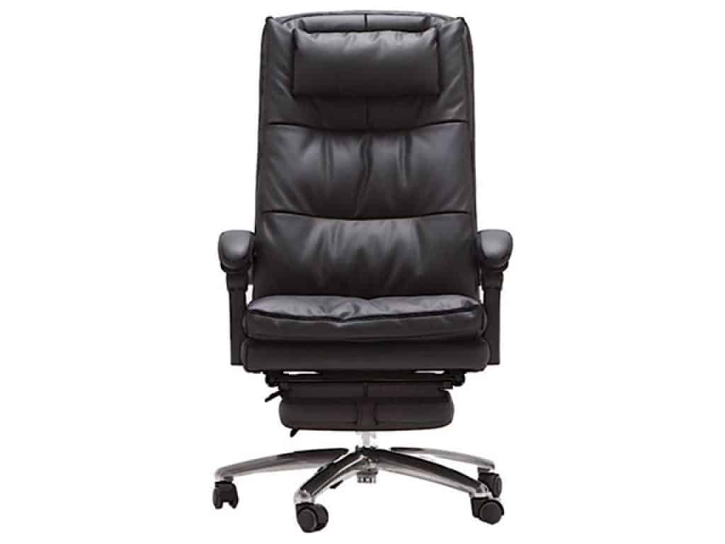 QQXX Genuine Leather Executive Office Chair