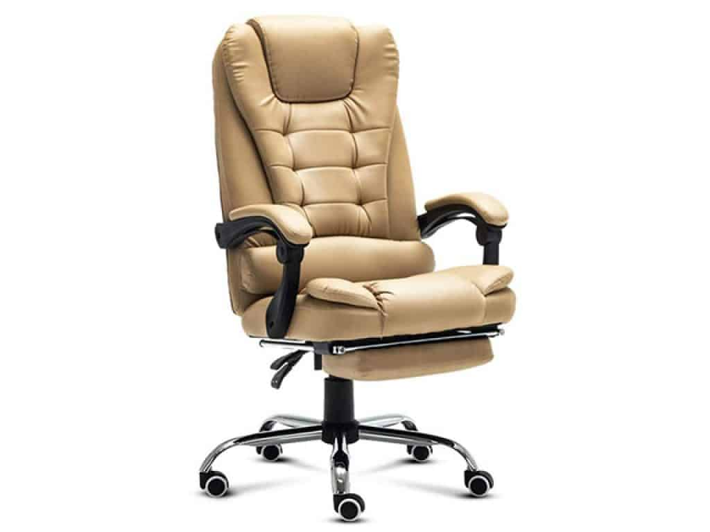 STOOL PU Leather High-Back Executive Swivel Office Chair