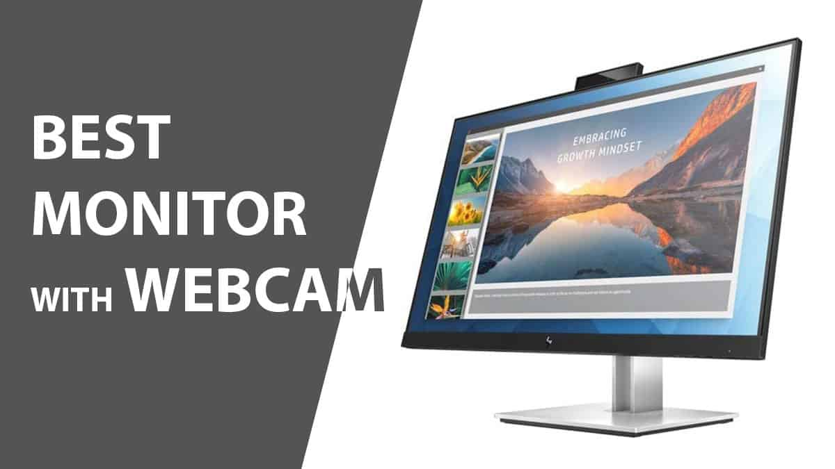 Best monitor with webcam