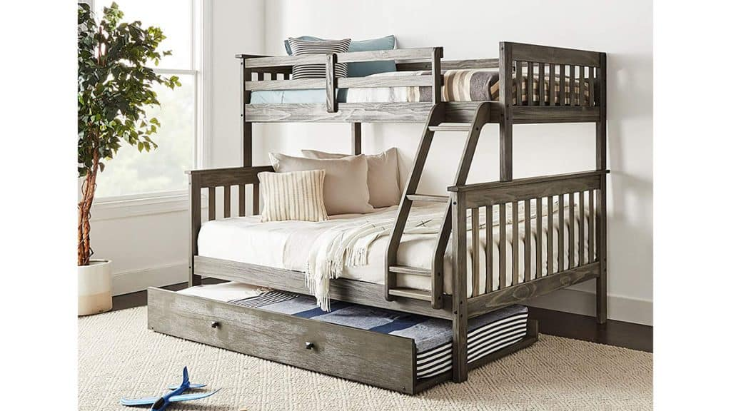 Donco Kids Mission Bunk Bed with Trundle
