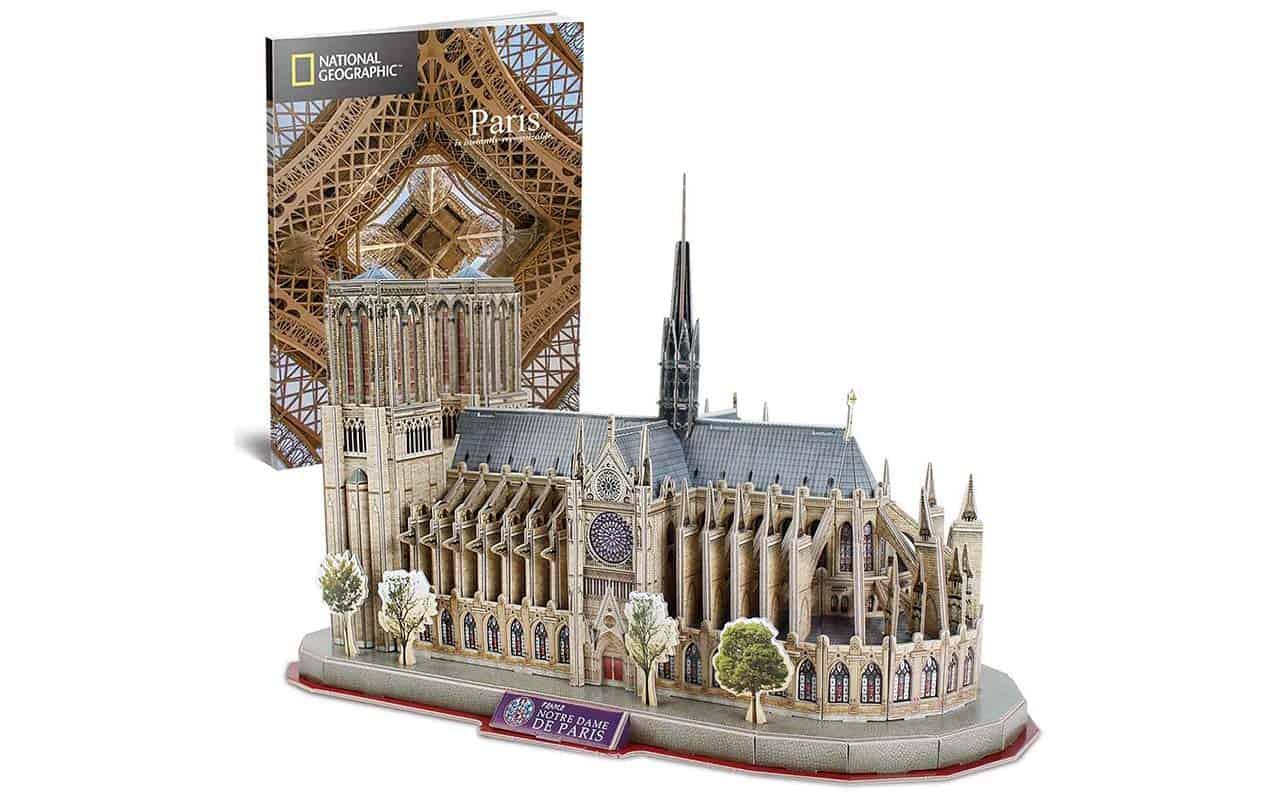CubicFun 3D Puzzle Notre Dame de Paris