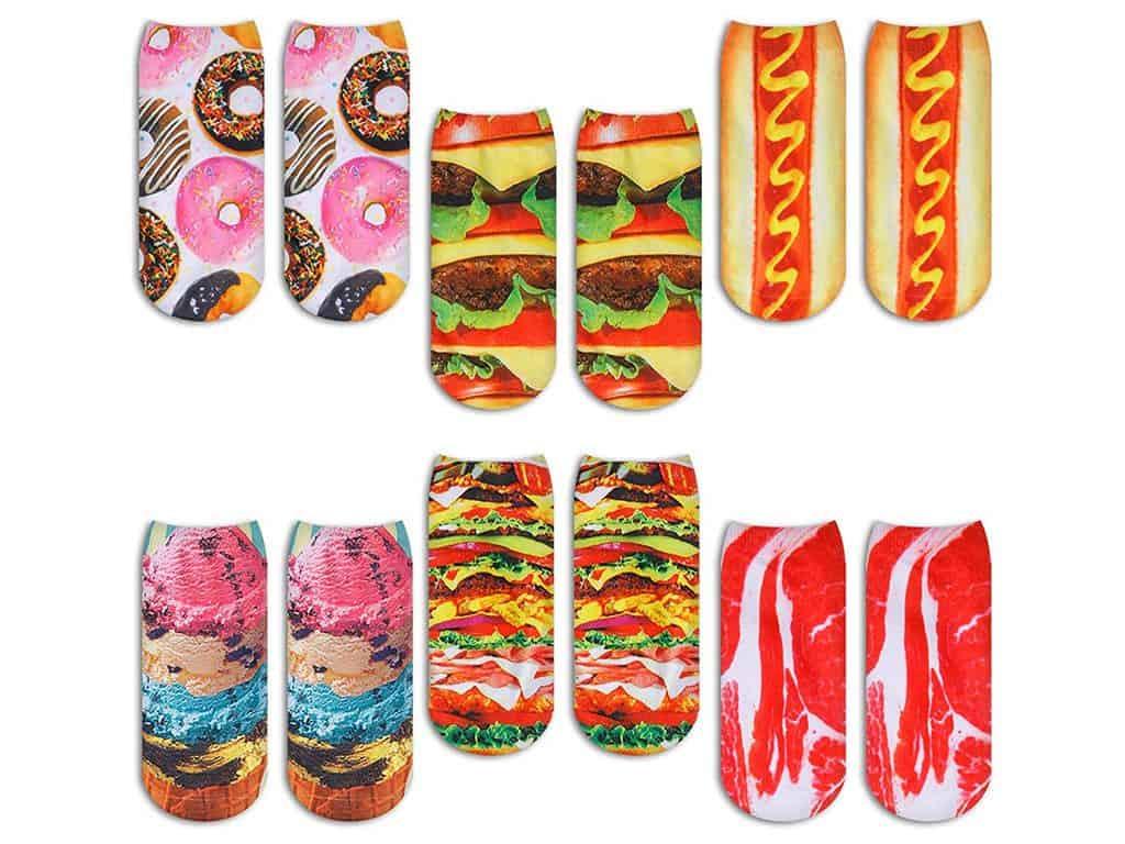 Zmart Fast Food Socks